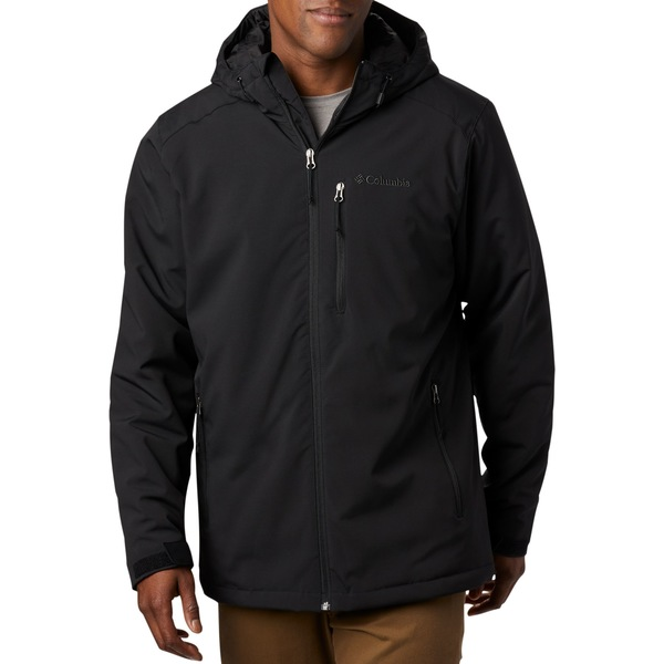 コロンビア メンズ ジャケット&ブルゾン アウター Columbia Men's Gate Racer Softshell Jacket (Regular and Big & Tall) Black1