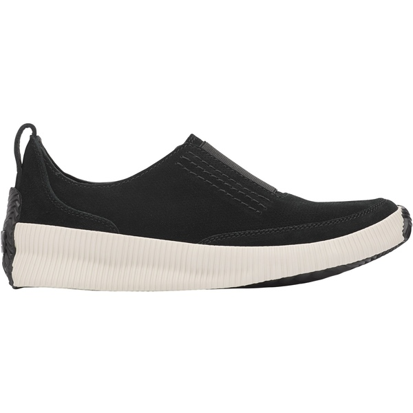 ソレル レディース スニーカー シューズ SOREL Women's Out 'N About Plus Slip-On Casual Shoes Black