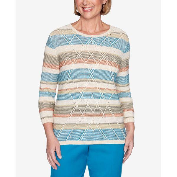 Sweater レディース Multi Biadere Size Women's アルフレッドダナー Colorado Springs Plus アウター ニット&セーター Textured