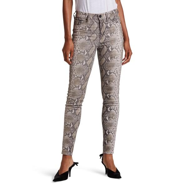 ハドソンジーンズ レディース カジュアルパンツ ボトムス Barbara Python Embossed Leather High Waist Ankle Super Skinny Pants Laurel Python