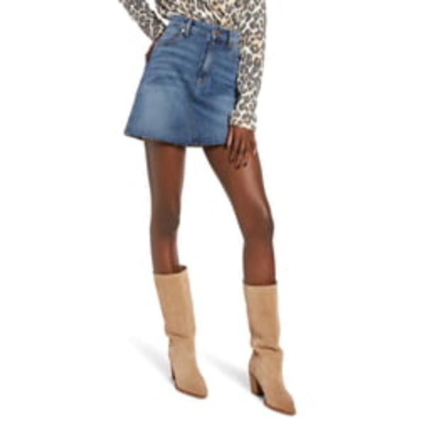 STSブルー レディース カジュアルパンツ ボトムス Emily Denim Miniskirt East Garnet