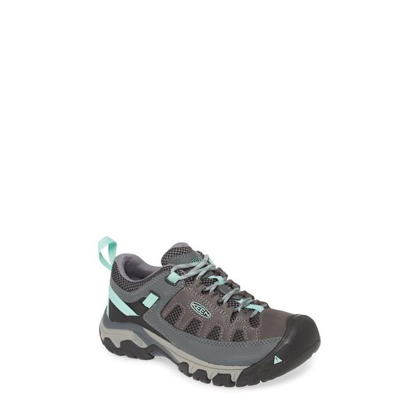 キーン レディース サンダル シューズ Targhee Vent Hiking Shoe Steel Grey/ Ocean Wave Leather