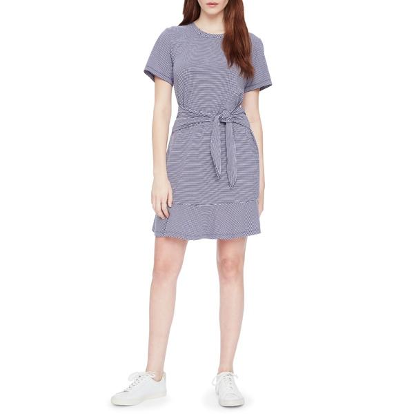 パーカー レディース ワンピース トップス Annika Stripe Stretch Cotton Minidress Tessa Stripe