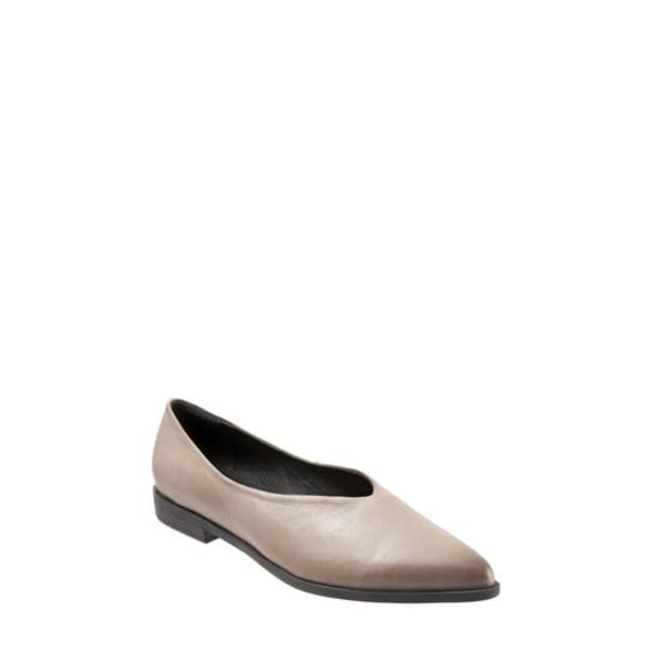 ブエノ レディース サンダル シューズ Billie Flat Grey Leather