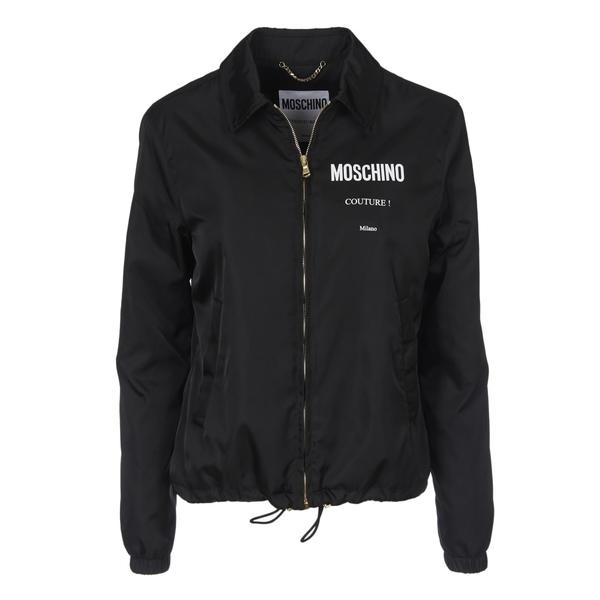 モスキーノ レディース ジャケット&ブルゾン アウター Moschino Couture Black Jacket -