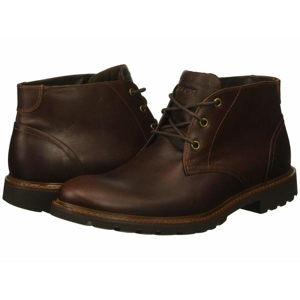 ロックポート メンズ ブーツ&レインブーツ シューズ Sharp and Ready Chukka Saddle Brown