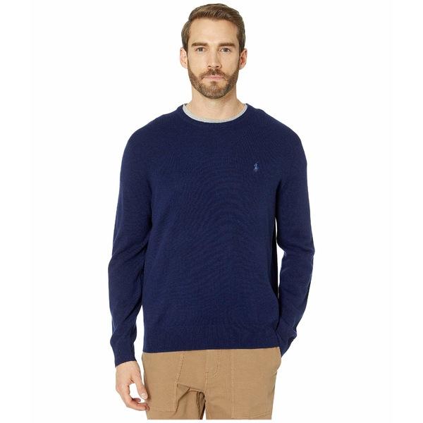 ラルフローレン メンズ ニット&セーター アウター Long Sleeve Washable Cashmere Sweater Bright Navy