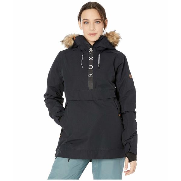 ロキシー レディース コート アウター Shelter Snow Jacket True Black