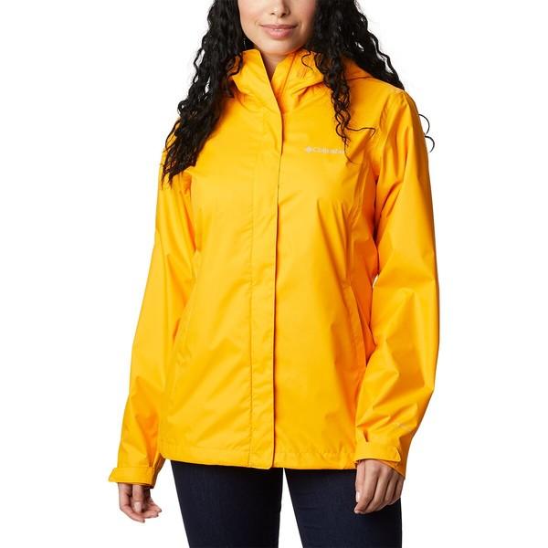 コロンビア レディース ジャケット&ブルゾン アウター Arcadia II Rain Jacket - Women's Bright Marigold