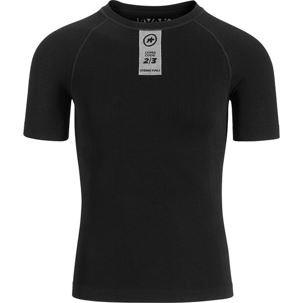 アソス メンズ シャツ トップス Skinfoil Spring/Fall SS Base Layer - Men's Blackseries