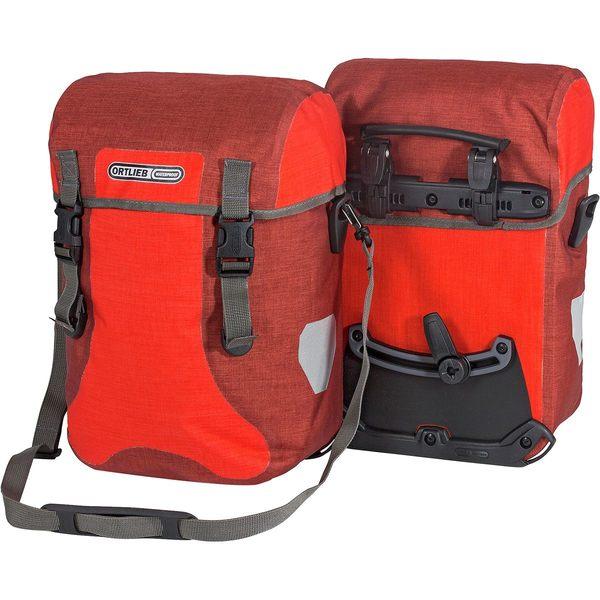 オルトリーブ レディース まとめ買い特価 スポーツ サイクリング Signal Red Chili Sport-Packer Plus Pair 全商品無料サイズ交換 Panniers - 受注生産品
