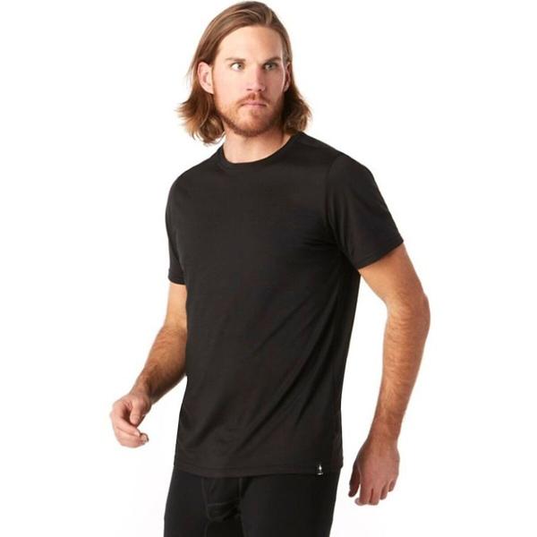 スマートウール メンズ シャツ トップス Merino Sport 150 T-Shirt - Men's Black