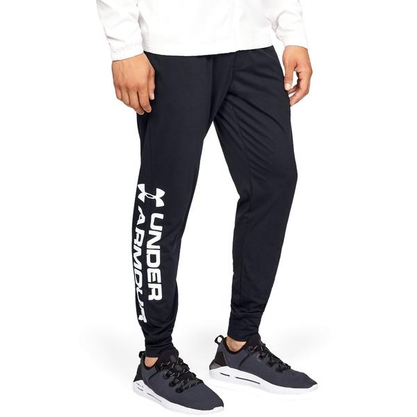 アンダーアーマー メンズ カジュアルパンツ ボトムス Under Armour Men's Sportstyle Cotton Graphic Joggers (Regular and Big & Tall) Black