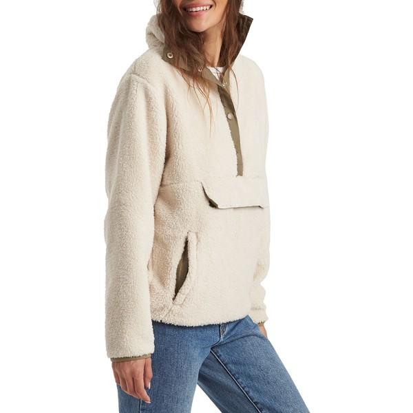 ビラボン レディース ジャケット&ブルゾン アウター Billabong Women's Switchback Polar Fleece Pullover Whisper