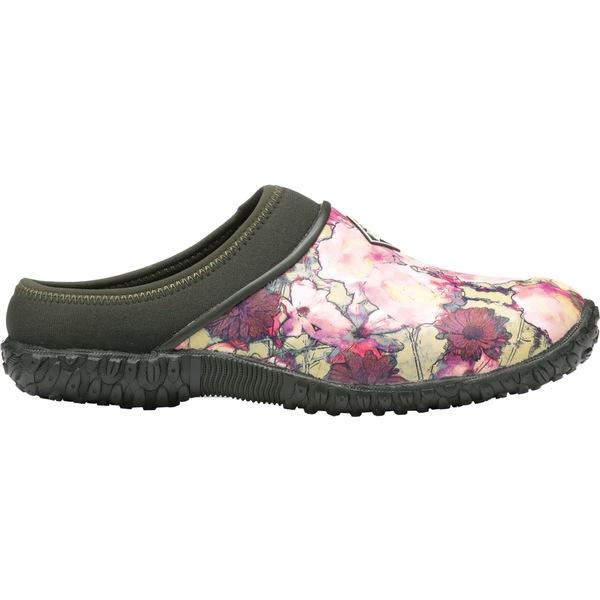 ムックブーツ レディース ブーツ&レインブーツ シューズ Muck Boots Women' Muckster II Clogs Green/Multi