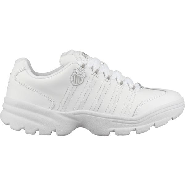 ケースイス レディース スニーカー シューズ K-Swiss Women's Altezo Shoes White/Silver