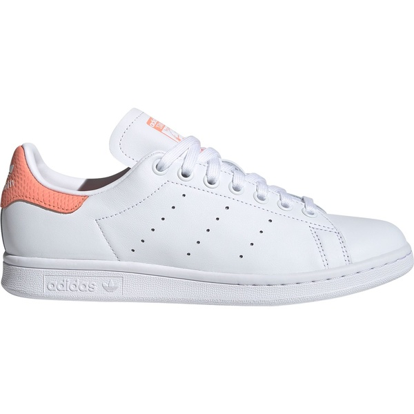 アディダス レディース スニーカー シューズ adidas Originals Women's Stan Smith Shoes White/Coral