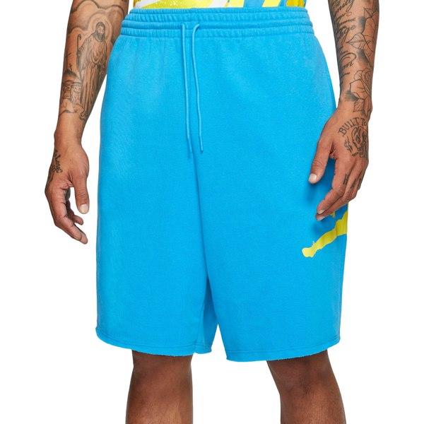 ジョーダン メンズ カジュアルパンツ ボトムス Jordan Men's Jumpman Logo Fleece Basketball Shorts EquatorBlue