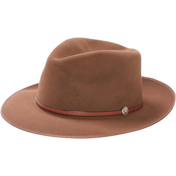 ステトソン メンズ 帽子 アクセサリー Roadster B Hat Walnut