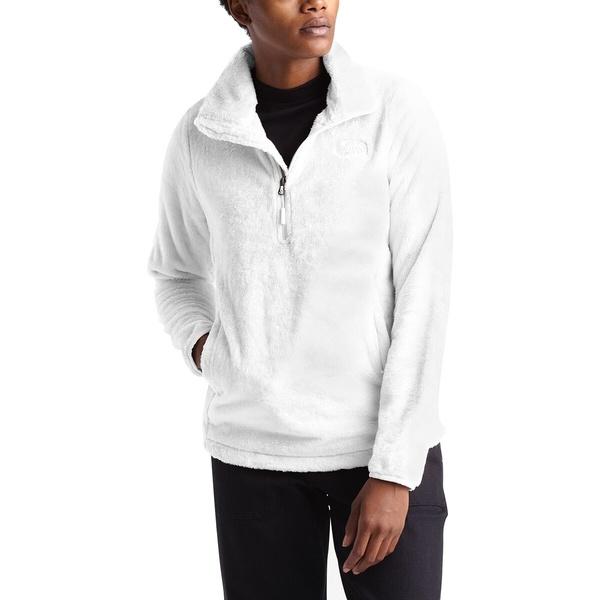 ノースフェイス レディース ジャケット&ブルゾン アウター Osito 1/4-Zip Fleece Pullover - Women's Tnf White