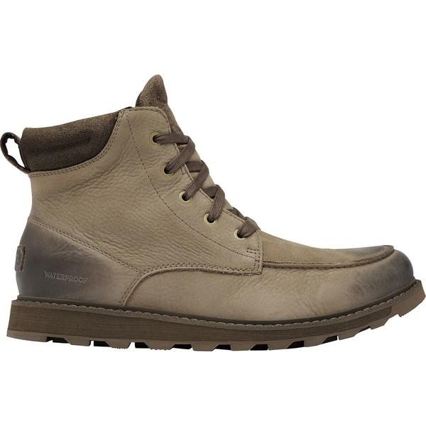 ソレル メンズ ブーツ&レインブーツ シューズ Madson II Moc Toe WP Boot - Men's Khaki II