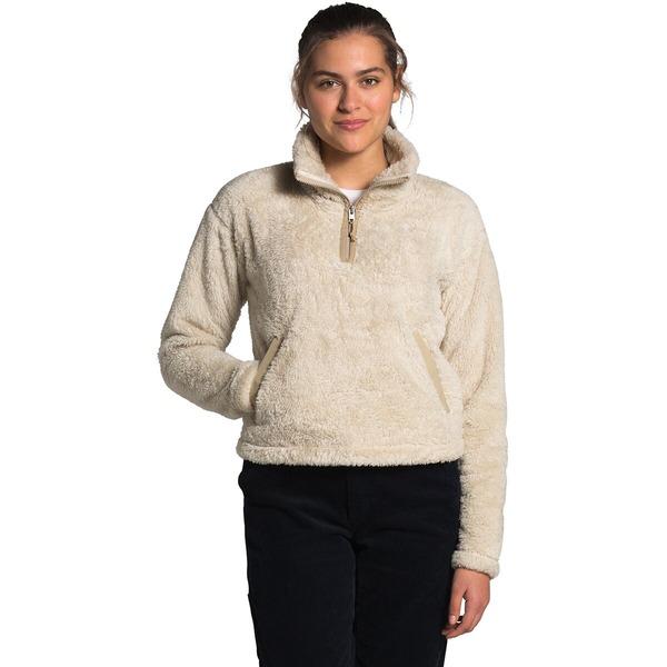 ノースフェイス レディース ジャケット&ブルゾン アウター Furry Fleece Pullover - Women's Bleached Sand/Hawthorne Khaki