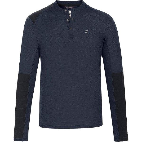 アルプスアンドメーターズ メンズ Tシャツ トップス Touring Henley Top - Men's Navy
