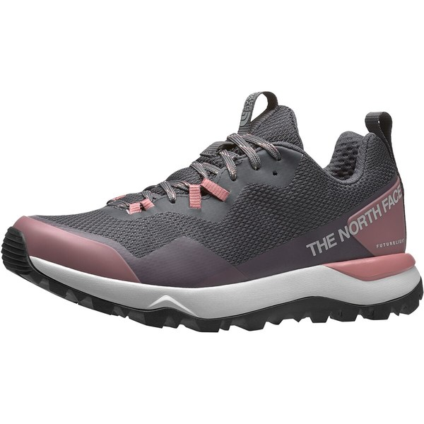 ノースフェイス レディース スニーカー シューズ Activist FUTURELIGHT Hiking Shoe - Women's Zinc Grey/Mesa Rose