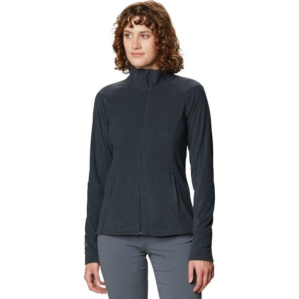 マウンテンハードウェア レディース ジャケット&ブルゾン アウター Microchill 2.0 Fleece Jacket - Women's Dark Storm