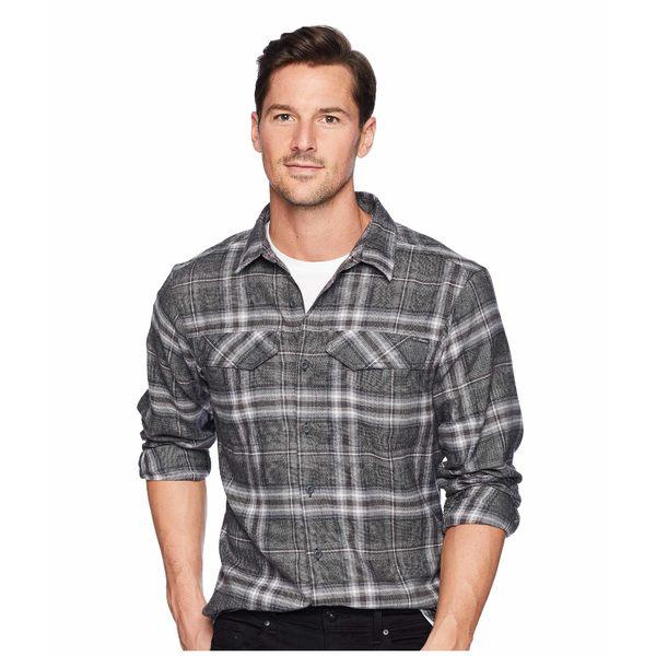コロンビア メンズ シャツ トップス Silver Ridge Flannel Long Sleeve Shirt Black Plaid