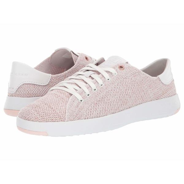 コールハーン レディース スニーカー シューズ Grandpro Tennis Stitchlite Optic White/Pink