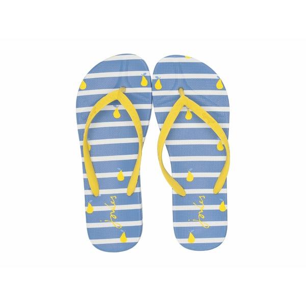 ジュールズ レディース サンダル シューズ Flip-Flop Blue Pear Stripe