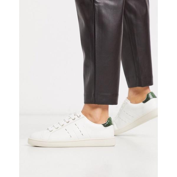 ストラディバリウス レディース スニーカー シューズ Stradivarius white sneaker White
