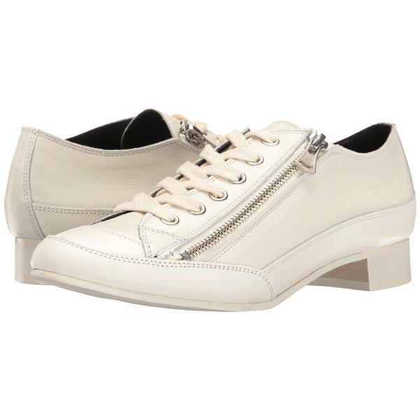 ワイズバイヨウジヤマモト レディース スニーカー シューズ Side Zipper Low Shoes Off-White