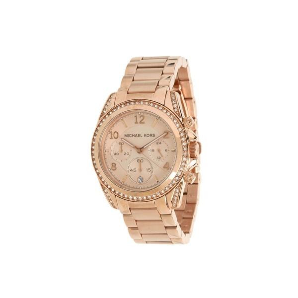 マイケルコース レディース 腕時計 アクセサリー MK5263 - Blair Chronograph Rose Gold