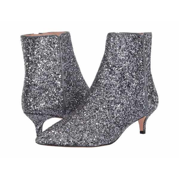 ジェイクルー レディース ヒール シューズ Glitter Emma Kitten Heel Boot Grey Glitter