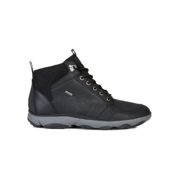 ジェオックス メンズ ブーツ&レインブーツ シューズ Nebula 4x4 ABX Waterproof Boots Black