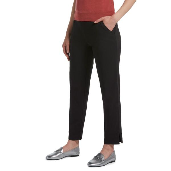ヒュー レディース カジュアルパンツ ボトムス Banded Cropped Trousers Black