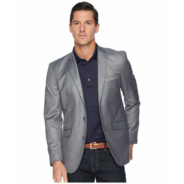 ケネスコール メンズ コート アウター Techni-Cole Stretch Suit Separate Blazer Light Grey