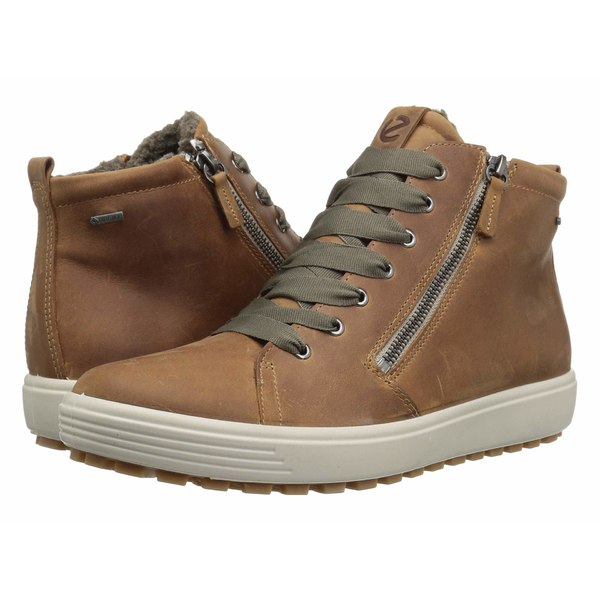 エコー レディース スニーカー シューズ Soft 7 Tred GORE-TEX High Cashmere Cow Oil Nubuck
