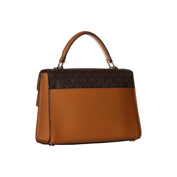 39dae251b0e8 ハンドバッグ レディース マイケルコース バッグ Brown/Butternut/Acorn Satchel Top-Handle Flap  Double Medium Sloan-ハンドバッグ - embroitique.com