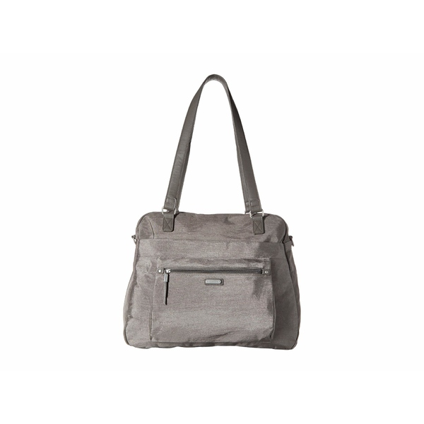 バッガリーニ レディース ハンドバッグ バッグ New Classic Overnight Expandable Laptop Tote with RFID Phone Wristlet Sterling Shimmer