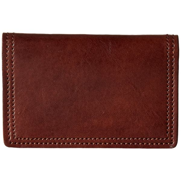 ボスカ メンズ 財布 アクセサリー Dolce Collection - Calling Card Case Dark Brown