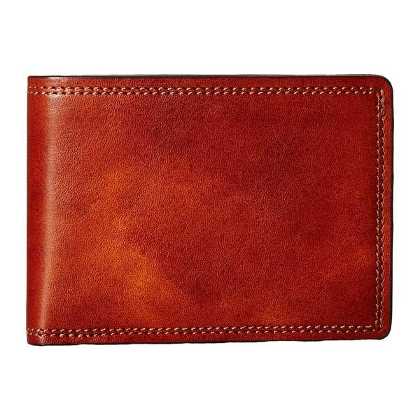 ボスカ メンズ 財布 アクセサリー Dolce Collection - Small Bifold Wallet Amber