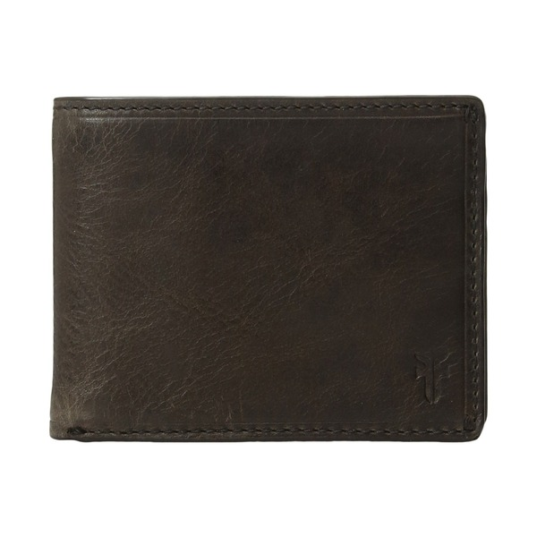 フライ メンズ 財布 アクセサリー Logan Slim ID Billfold Slate Antique Pull-Up