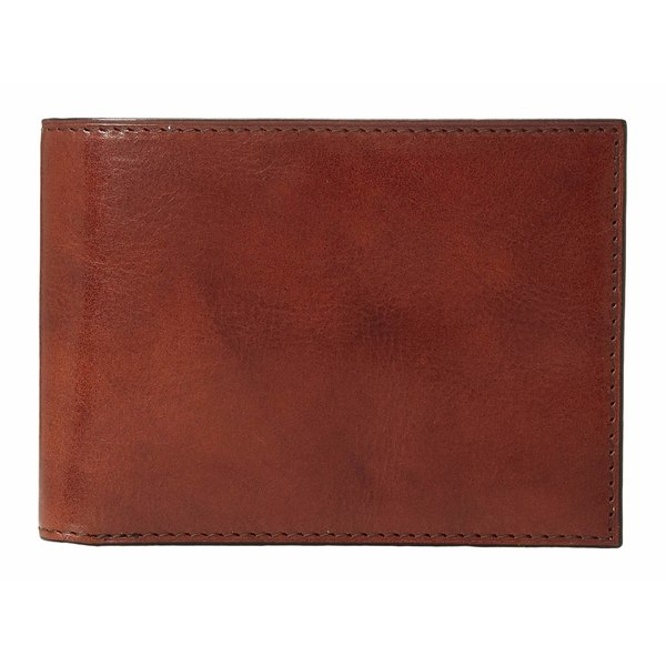 ボスカ メンズ 財布 アクセサリー Old Leather Collection - Credit Wallet w/ ID Passcase Cognac Leather