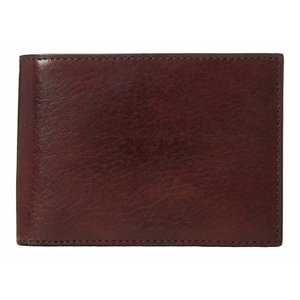 ボスカ メンズ 財布 アクセサリー Old Leather Collection - Credit Wallet w/ ID Passcase Dark Brown Leather