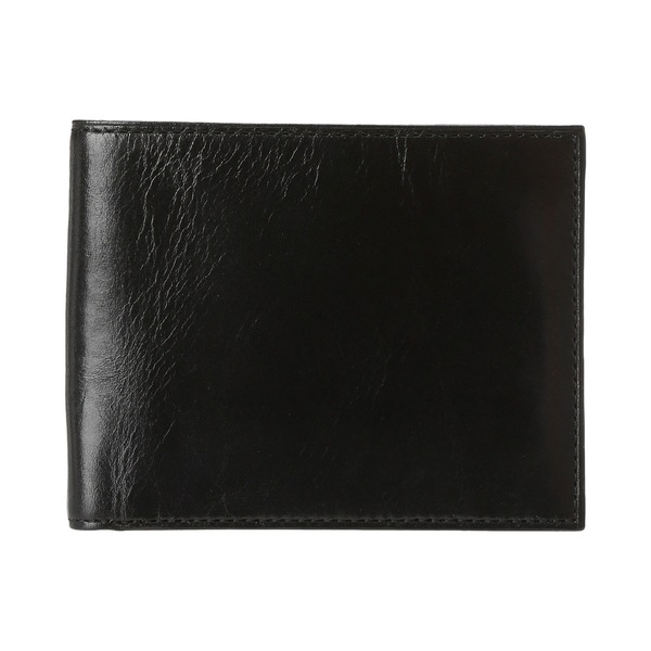 ボスカ メンズ 財布 アクセサリー Old Leather Classic 8 Pocket Deluxe Executive Wallet Black