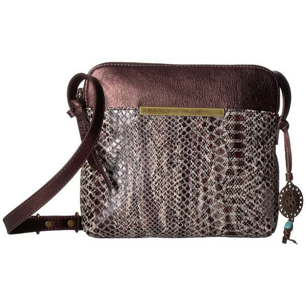 ザサック レディース ハンドバッグ バッグ Encina Camera Bag Crossbody by The Sak Collective Teak Snake Multi