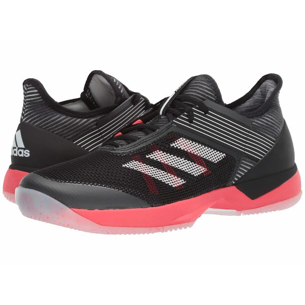アディダス レディース スニーカー シューズ adizero Ubersonic 3 Core Black/Footwear White/Shock Red